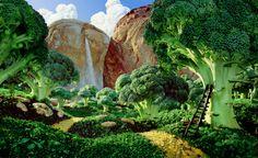 Landscapes Made of Food