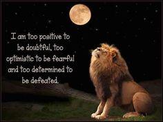 Positive#, Optimistic, Determined