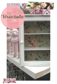 Vintage Rose Brocante Shabby Chic Romantic Cottage