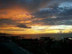 This sky is on fire !!! #visitmanado