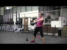 Toni west, battle ropes and some other great stuff