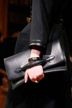 Hermes bags catalog fall winter 2014 2015: exclusive handbag leather black