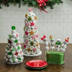 Donut Trees and Snowmen