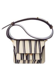 Marni Marni Trunk Mini Leather Shoulder Bag