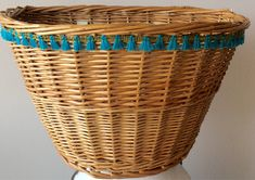 A personal favorite from my Etsy shop https://www.etsy.com/listing/529505874/wicker-bicycle-basket