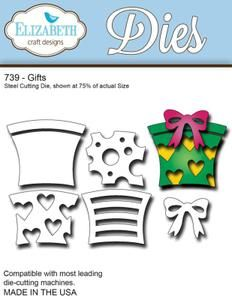 Elizabeth Craft Designs Die, Gifts $17.00