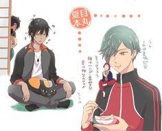 埋め込み画像 Manga Cute, Natsume Yuujinchou, Touken Ranbu, Doujinshi, Crossover, Manga Anime, Geek Stuff, My Arts, Comics