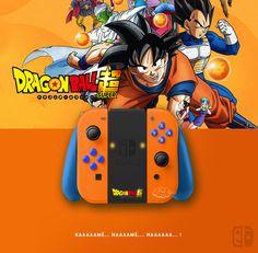 Joy Con Dragon Ball Super. If U like it, follow me on Twitter ! joycon, nintendo switch, dock, joy-con