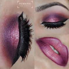 """""""One more gorgeous glam look@with Jingle Bells created by @rumanatheartist @rumanatheartist"""""""