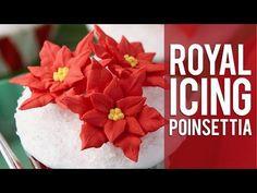 Buttercream Flower Series: How to Make Poinsettias - YouTube