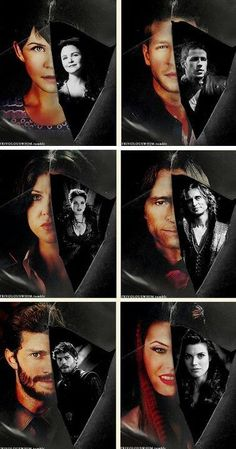 Awesome Charming Snow Rumple/Mr Gold Regina/Evil Queen Regina Ruby/Red Riding Hood Graham (Josh Ginny Robert Lana Meghan Jamie) in awesome art