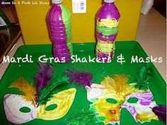 February Mardi Gras and Carnival Kids Crafts