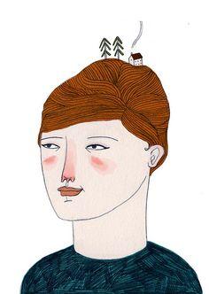 Lizzy Stewart #illustration #art #drawing