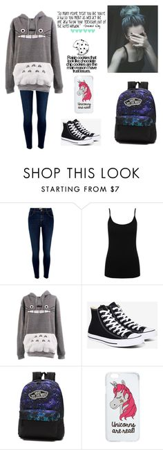 """""""Untitled #226"""" by awakard-jedi-turtle ❤ liked on Polyvore featuring River Island, M&Co, Converse, Vans and Miss Selfridge"""