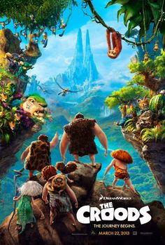 'The Croods' Stills  Meet the first modern family in the next film from DreamWorks Animation