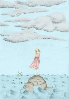 Coloured Stormy Weather Girl II – Graphite Pencil Drawing Graphite, Creative Art, Pencil Drawings, Disney Characters, Fictional Characters, Arts And Crafts, Weather, Kids Rugs, Disney Princess
