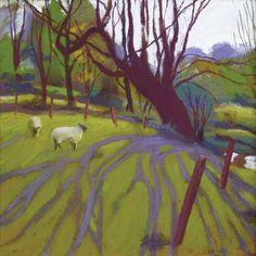 Sue Campion - Springtime Tree Shadows