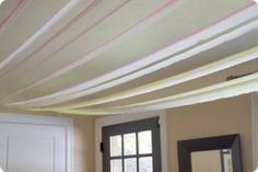 watercolor streamers for party