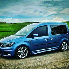 Vw Cady, Vw Caddy Tuning, Vw Transporter Van, Caddy Van, Volkswagen Touran, Vw Caddy Maxi, Bmw Love, Vans Style, Custom Vans