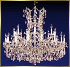 iron silver finish maria theresa 25 lights ESMT0002 - Maria Theresa - Chandeliers - Eshine