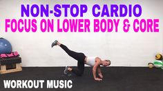 30 Minute Butt, Thighs and Core Workout with Fat Burning Cardio
