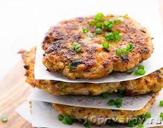 Диетические куриные котлеты с кабачком в духовке Salmon Burgers, Ethnic Recipes, Food, Meals
