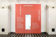 signage for Finnish Design Museum by Werklig