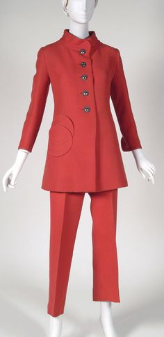 Philadelphia Museum of Art - Collections Object : Woman's Pantsuit:  Jacket and Trousers 1970