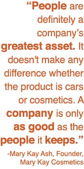 Mary Kay is a great company with great people!