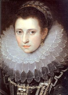 frans pourbus the younger (1569–1622) - portrait of a young woman