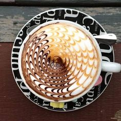 Coffee at its best! by thetrendybarista #coffee #coffeeart