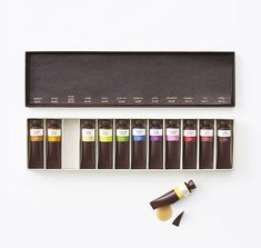 Chocolate Paint Tubes