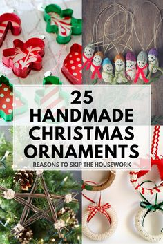 Christmas DIY: Illustration Description These creative Handmade Ornaments will add a special touch to your Christmas tree this season! Childrens Christmas Crafts, Christmas Activities, Christmas Projects, Handmade Christmas, Handmade Ornaments, Holiday Ornaments, Holiday Crafts, Christmas Decorations, All Things Christmas
