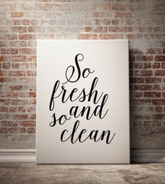Bathroom Decor So Fresh And So Clean Poster By Bluebookdesign