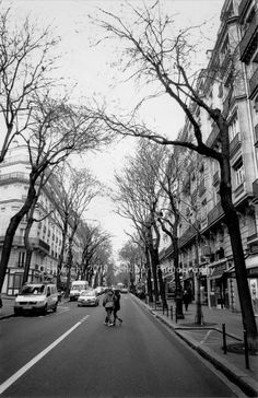 Crossing the Road - Paris by Schubert Photography