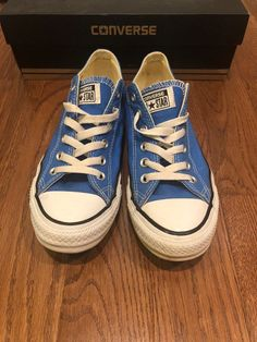 77d6ffc6dae8 Gently used converse - unisex men s 7 women s 9 light sapphire