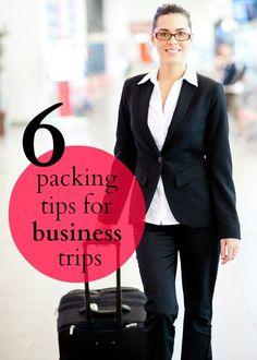 Packing for business trips can be difficult, but these tips will help!