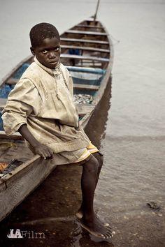 Little boy from Ghana. (Ghana, West Africa)