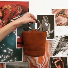 The Bonsai bag is here! Shop Simon Miller on the site. #shopsuperstreet #simonmiller #bonsaibag