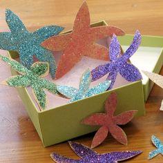 Little Mermaid Princess Craft Sandpaper Starfish
