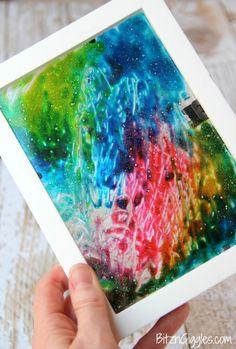 Bricoler le verre! Colorer le verre! Un bricolage super facile pour les enfants! - Trucs et Bricolages