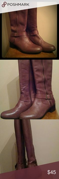 """Franco Fortini Boots Brown Boots, worn a few times but in excellent condition. 1.5"""" heel Style# 1261448 Franco Fortini  Shoes Heeled Boots"""