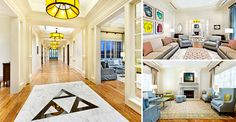 BARBERMcMURRY architects | University of Tennessee - Delta Delta Delta Sorority Chapter House - Entry, Social Room, Living Room - Inspiration for sorority re-decoration