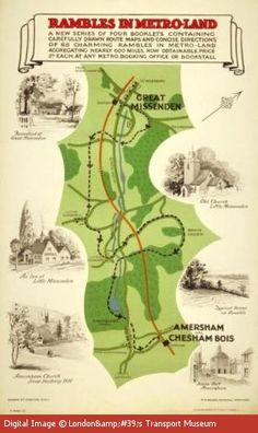 Rambles In Metroland - poster