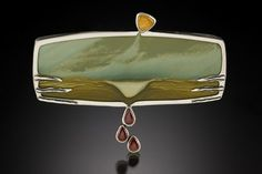 Mary & Spencer Watson/Silver Stone Handcrafted...art jewelry & sand-blasted stones - art-jewelrypendants