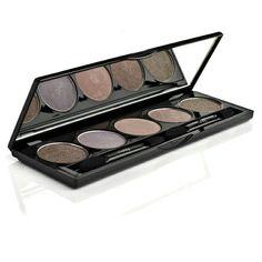 Make-up Eyeshadow Set Black Gold Velvet