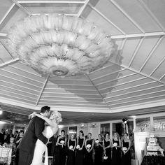 A perfect first dance wedding moment in the Grand Salon at Shutters on the Beach - Santa Monica, California. (Photo by Maya Myers) Beach Wedding Photos, Wedding Moments, Beach Hotels, First Dance, Santa Monica, Shutters, Big Day, Got Married, Maya