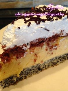 Hungarian Desserts, Hungarian Recipes, Italian Recipes, Birtday Cake, Italian Cooking, Tiramisu, Cake Recipes, Cheesecake, Food And Drink