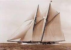 Schooner Atlantic - Beken of Cowes