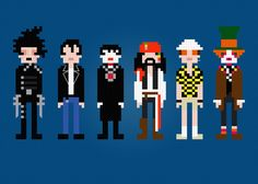 This is pretty funny -Johnny Depp Characters -Cross Stitch PDF Pattern Download. $5.00, via Etsy.